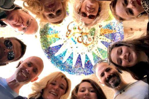 Participantes en nuestros Gaudí tours (Barcelona, España)