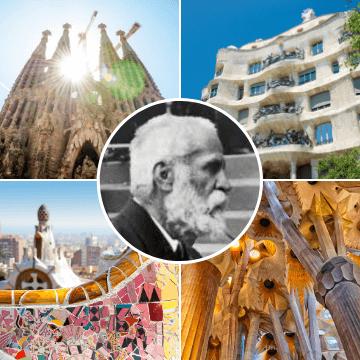 Banner de nuestro Gaudí Barcelona Walking Tour