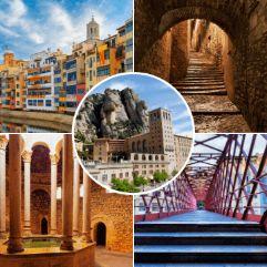 Imágenes de nuestra excursión a Montserrat y Girona