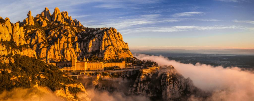Banner de nuestras excursiones a Montserrat